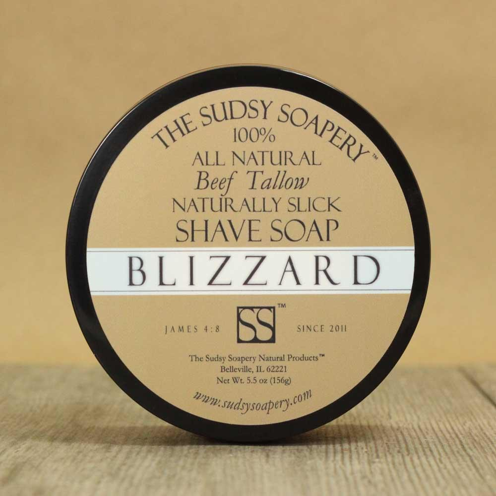 The Sudsy Soapery - Blizzard - Soap image