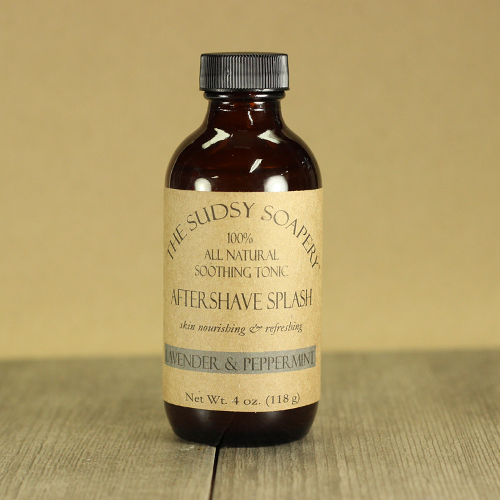 The Sudsy Soapery - Lavender & Peppermint - Aftershave (Alcohol Free) image