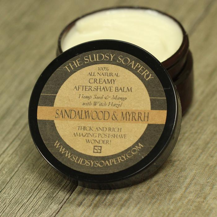 The Sudsy Soapery - Sandalwood & Myrrh - Balm image