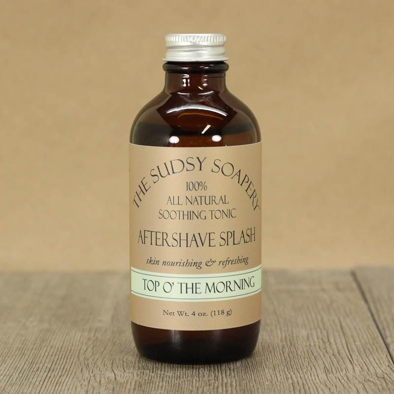 The Sudsy Soapery - Top O' the Morning - Aftershave (Alcohol Free) image