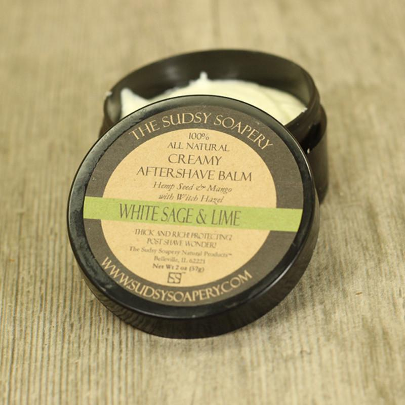 The Sudsy Soapery - White Sage & Lime - Balm image
