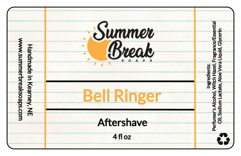 Summer Break Soaps - Bell Ringer - Aftershave image