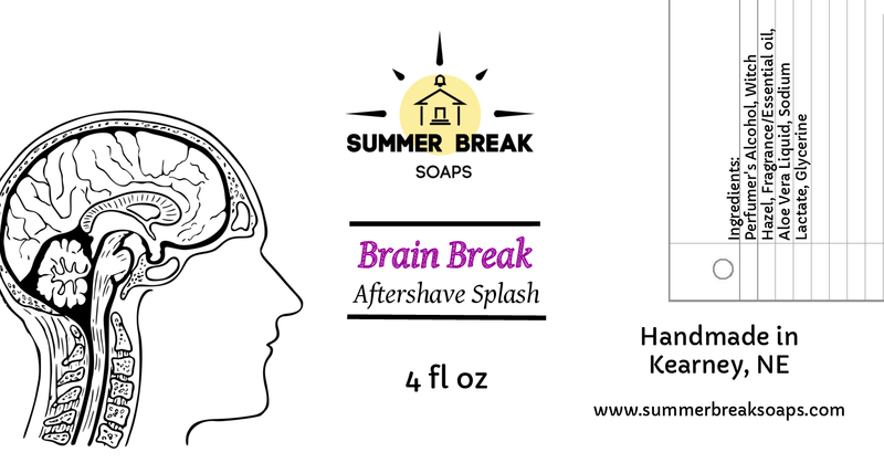Summer Break Soaps - Brain Break - Aftershave image