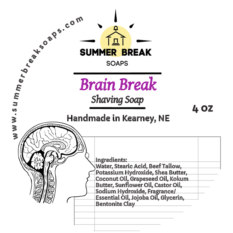 Summer Break Soaps - Brain Break - Soap image
