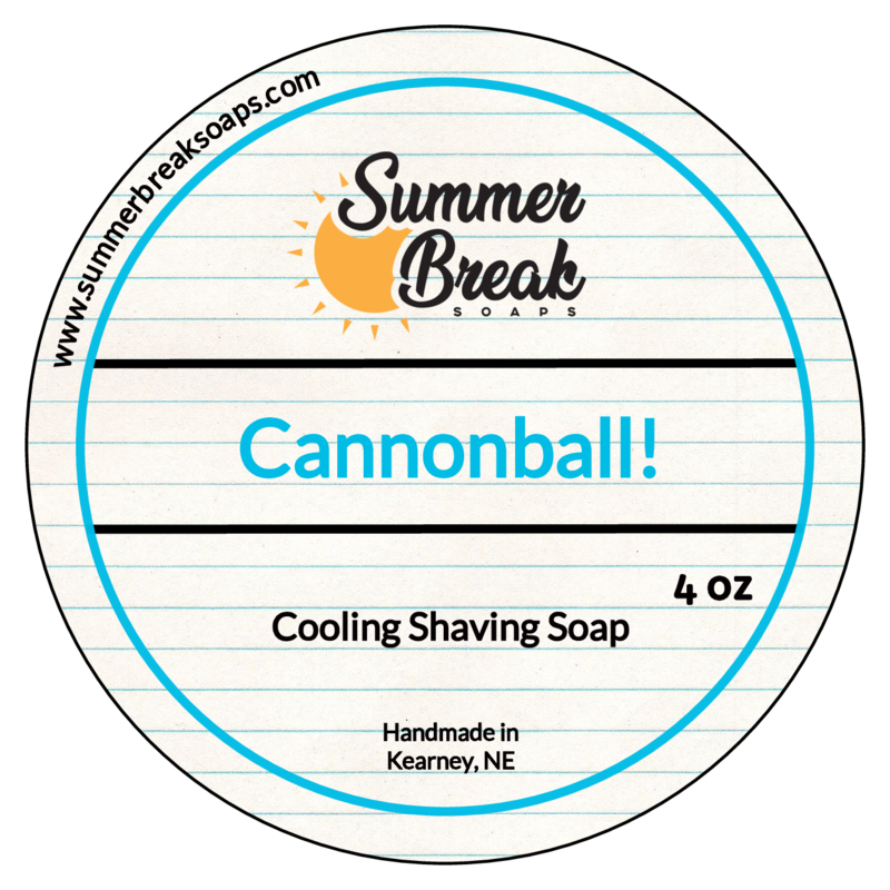 Summer Break Soaps - Cannonball! - Soap image