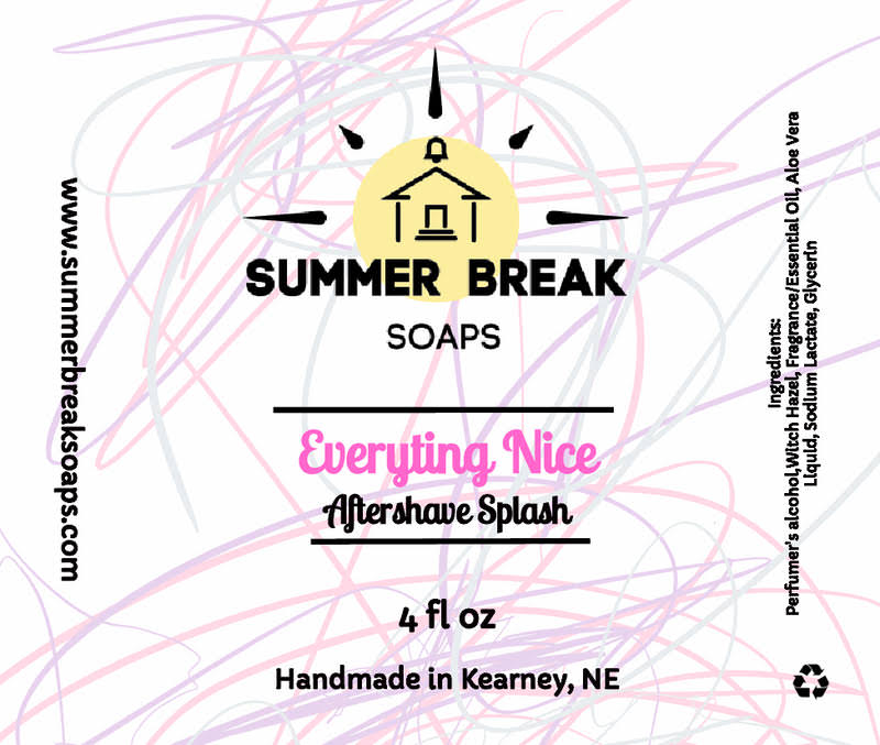 Summer Break Soaps - Everything Nice - Aftershave image