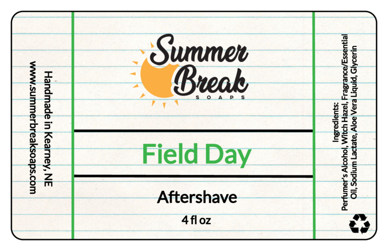Summer Break Soaps - Field Day - Aftershave image