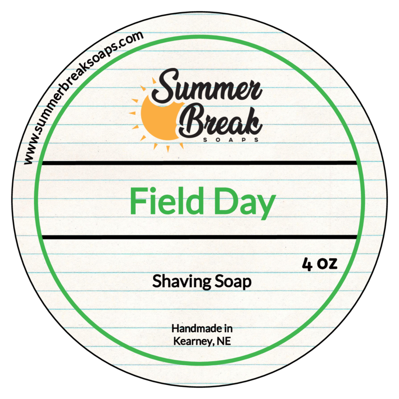 Summer Break Soaps - Field Day - Soap image