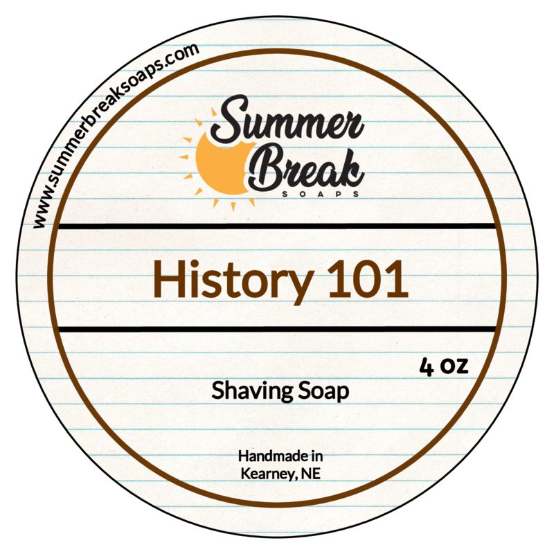 Summer Break Soaps - History 101 - Soap image