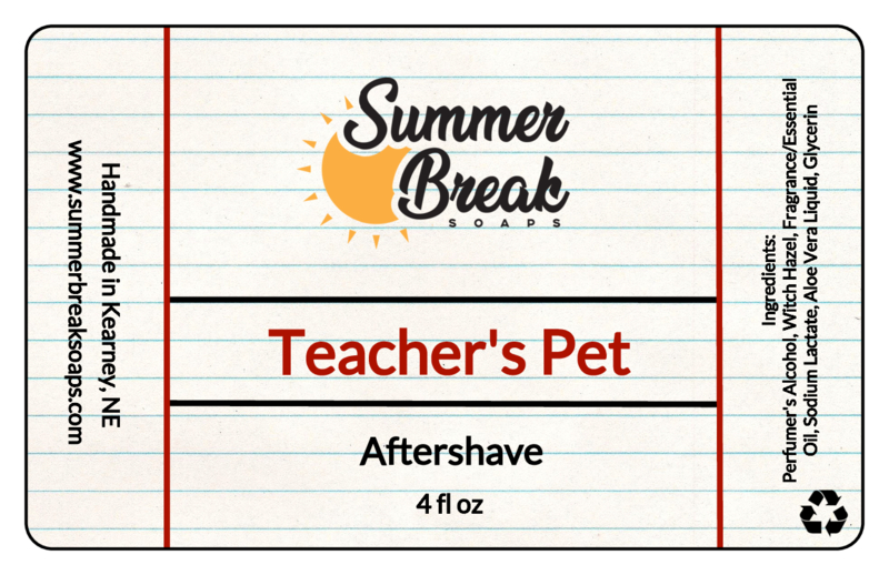 Summer Break Soaps - Teacher's Pet - Aftershave image