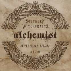 Southern Witchcrafts - Alchemist - Aftershave (Alcohol Free) image