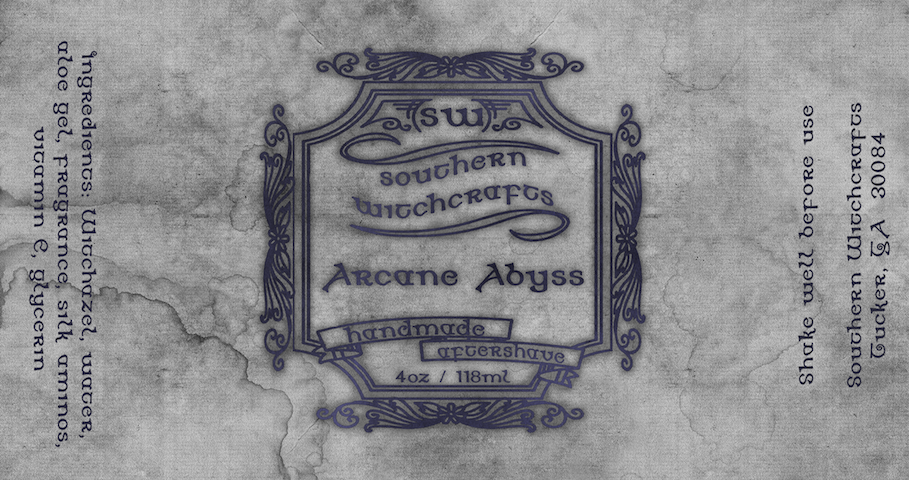 Southern Witchcrafts - Arcane Abyss - Aftershave (Alcohol Free) image