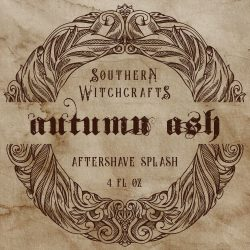Southern Witchcrafts - Autumn Ash - Aftershave (Alcohol Free) image