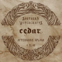 Southern Witchcrafts - Cedar - Aftershave (Alcohol Free) image