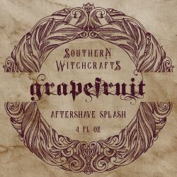 Southern Witchcrafts - Grapefruit - Aftershave (Alcohol Free) image