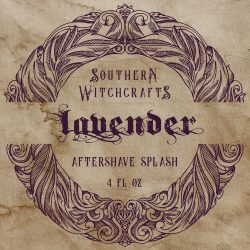Southern Witchcrafts - Lavender - Aftershave (Alcohol Free) image