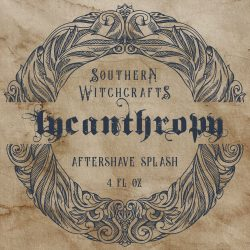 Southern Witchcrafts - Lycanthropy - Aftershave (Alcohol Free) image