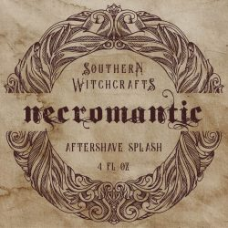 Southern Witchcrafts - Necromantic - Aftershave (Alcohol Free) image
