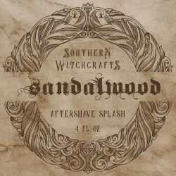 Southern Witchcrafts - Sandalwood - Aftershave (Alcohol Free) image