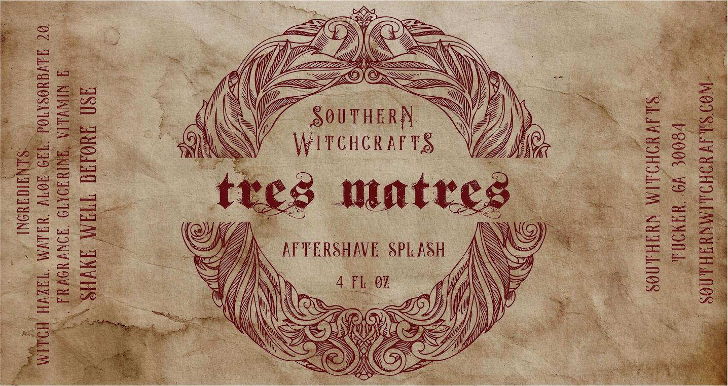 Southern Witchcrafts - Tres Matres - Aftershave (Alcohol Free) image