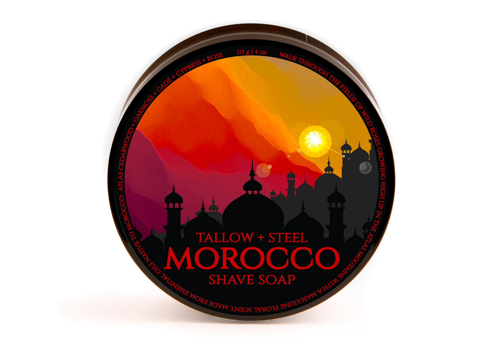 Tallow + Steel - Morocco - Soap image