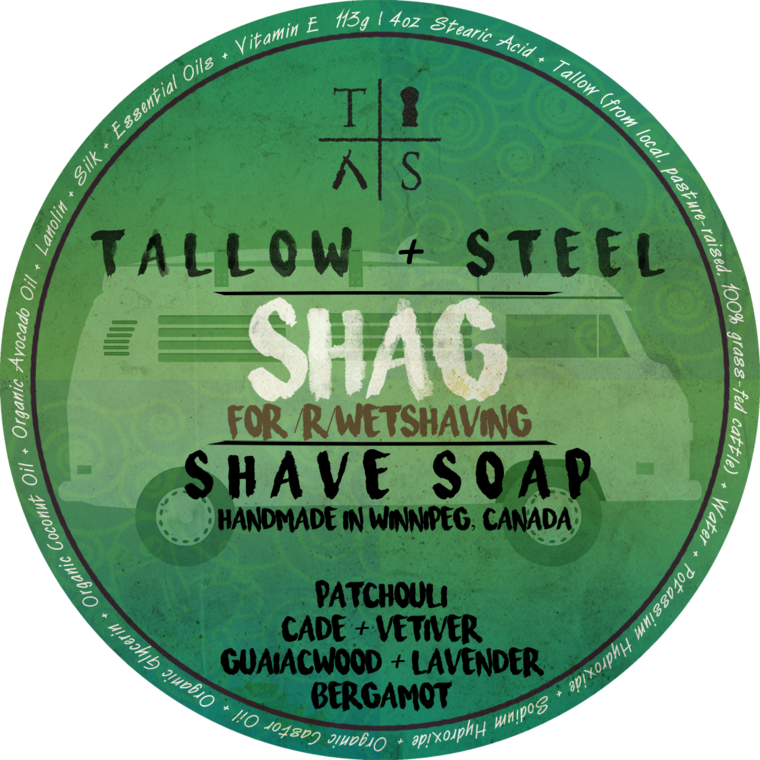 Tallow + Steel - Shag - Soap image
