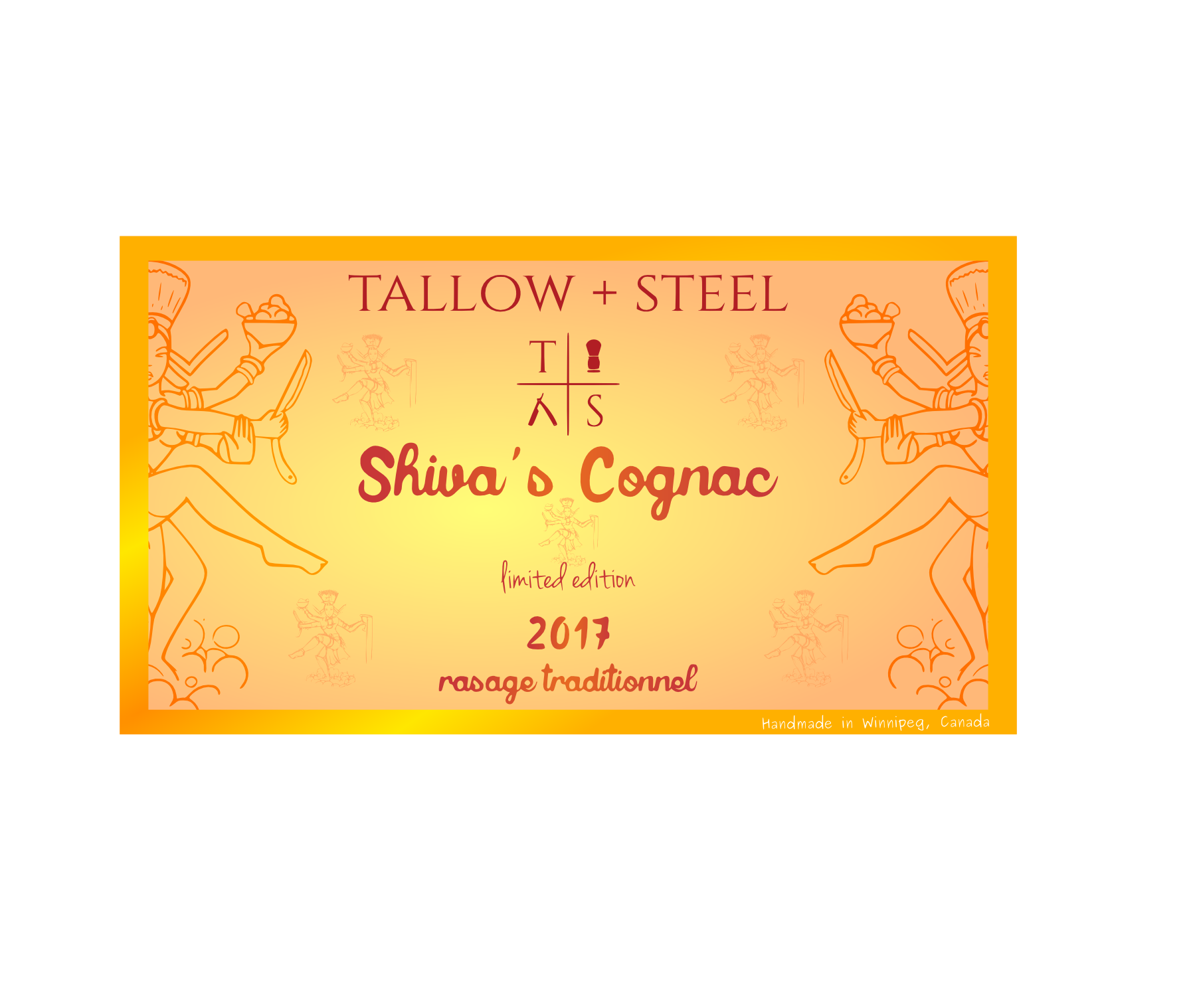Tallow + Steel - Shiva's Cognac - Aftershave (Alcohol Free) image
