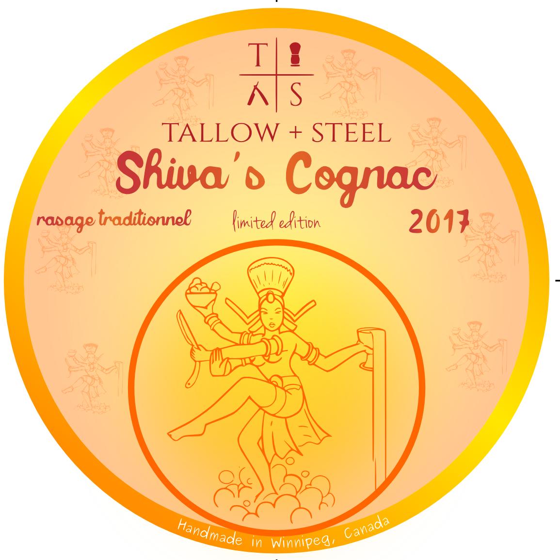 Tallow + Steel - Shiva's Cognac - Soap image