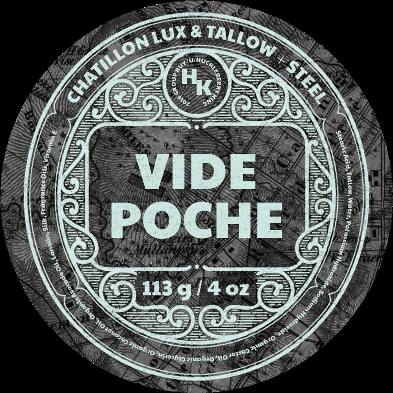 Chatillon Lux/Tallow + Steel - Vide Poche - Soap image