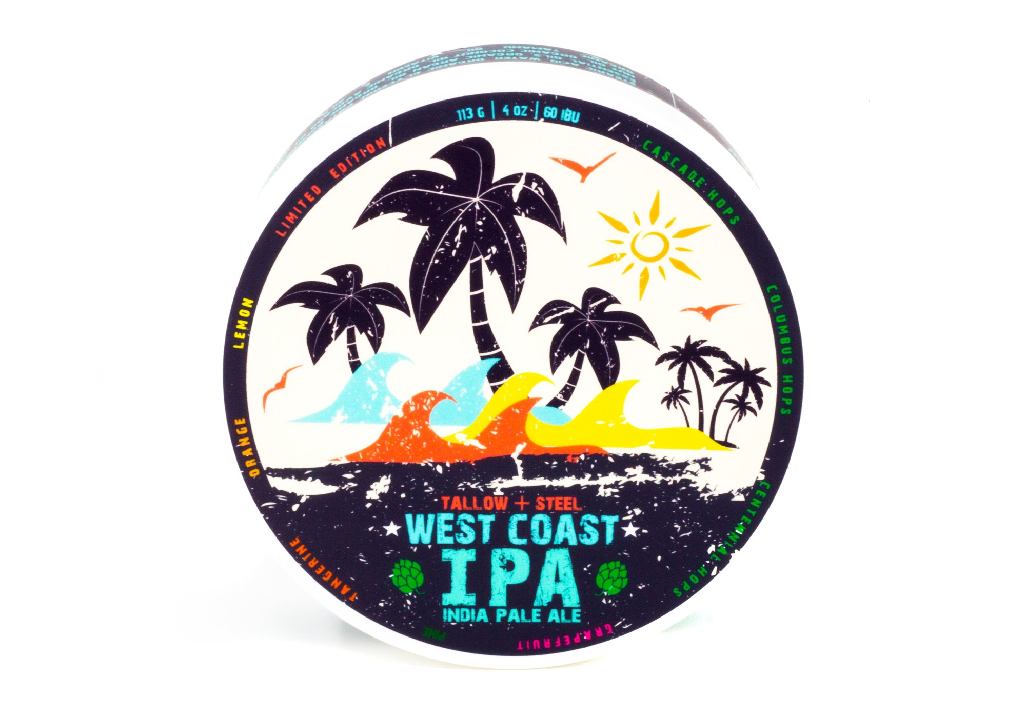 Tallow + Steel - West Coast IPA - Soap image