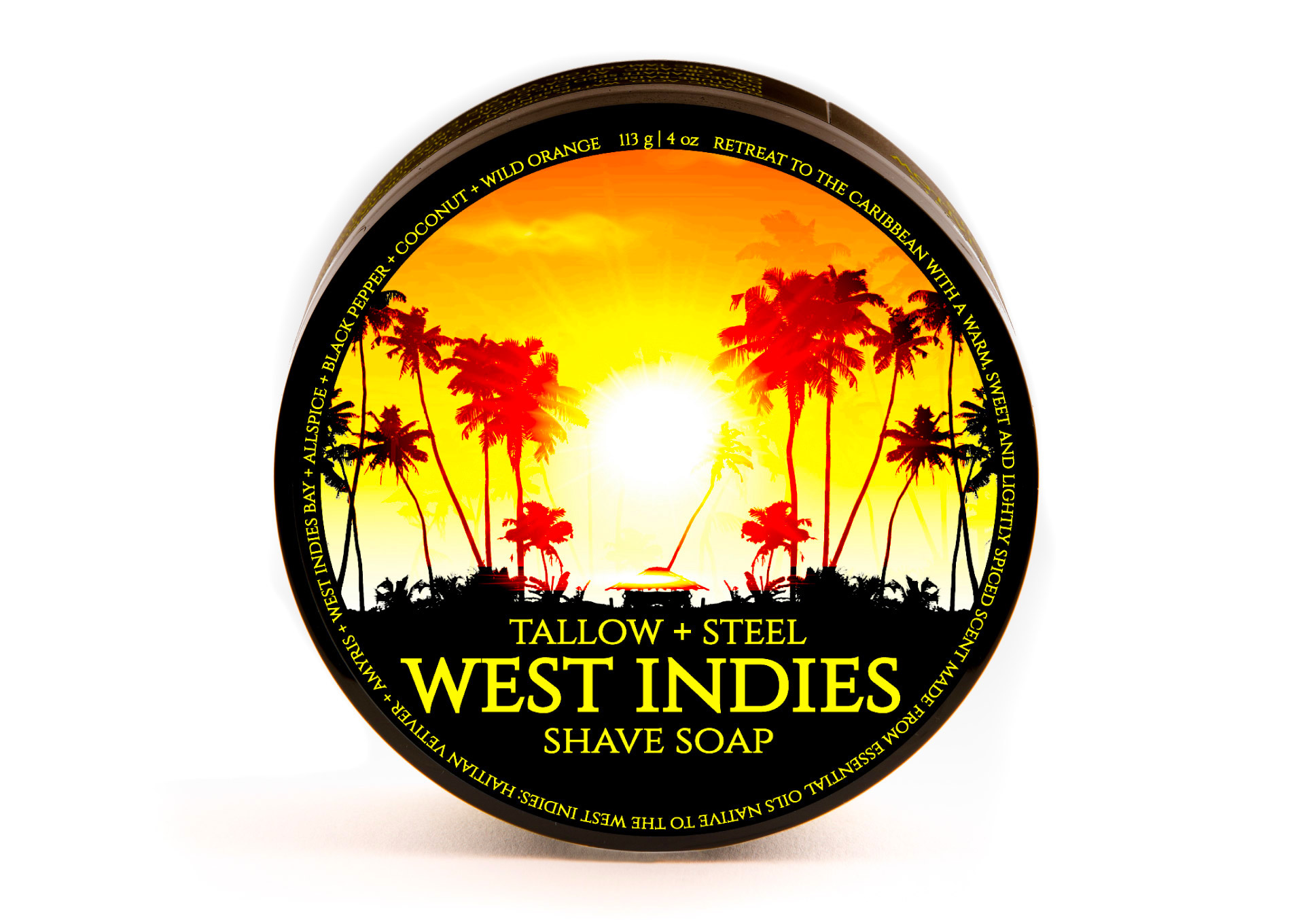 Tallow + Steel - West Indies - Soap image