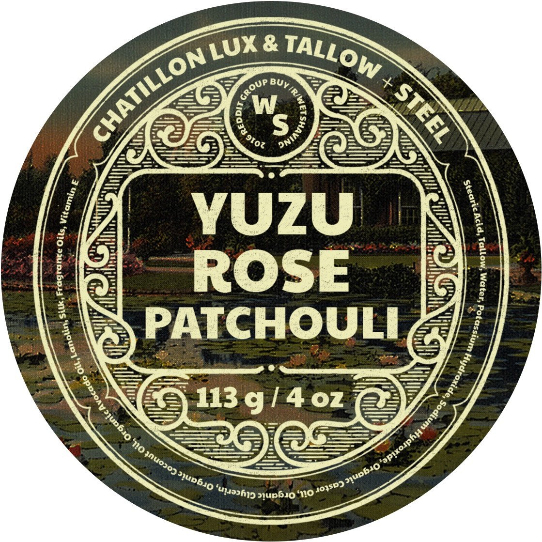 Chatillon Lux/Tallow + Steel - Yuzu/Rose/Patchouli - Soap image