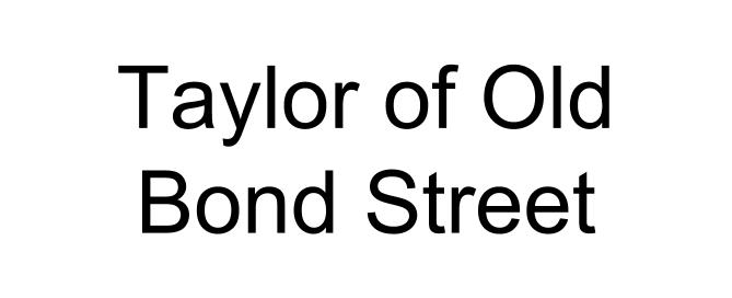 Taylor of Old Bond Street logo