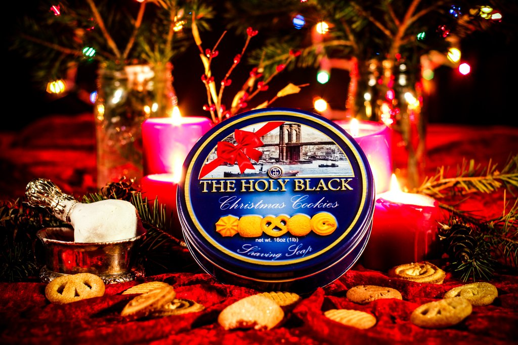 The Holy Black - Christmas Cookies - Soap image
