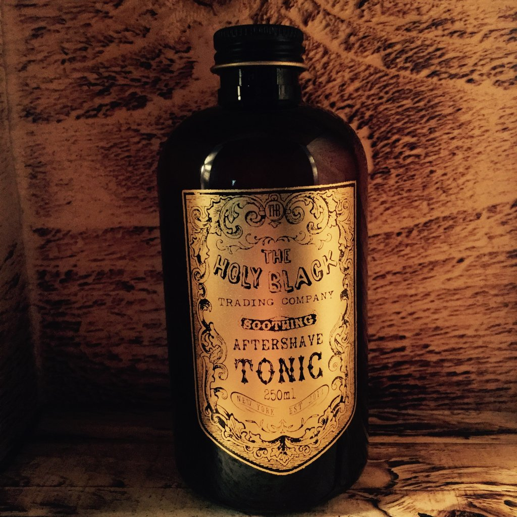 The Holy Black - Gunpowder Spice - Aftershave image