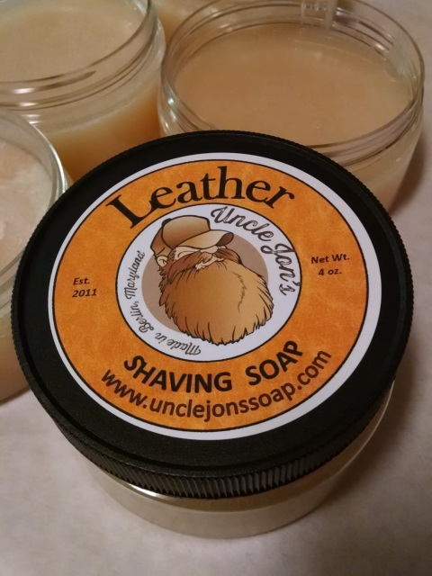Uncle Jon's Soap - Leather - Soap (Vegan) image