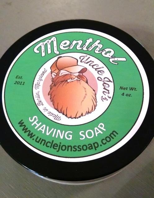 Uncle Jon's Soap - Menthol - Soap image