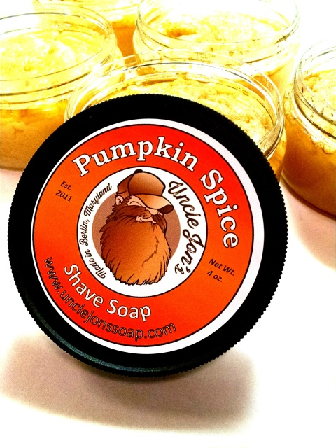 Uncle Jon's Soap - Pumpkin Spice - Soap (Vegan) image