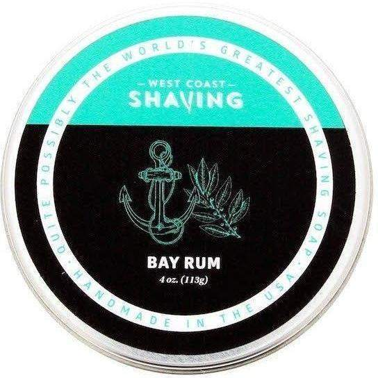 West Coast Shaving - Bay Rum - Soap image