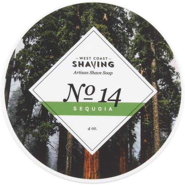 West Coast Shaving - #14 Sequoia - Soap (Vegan) image