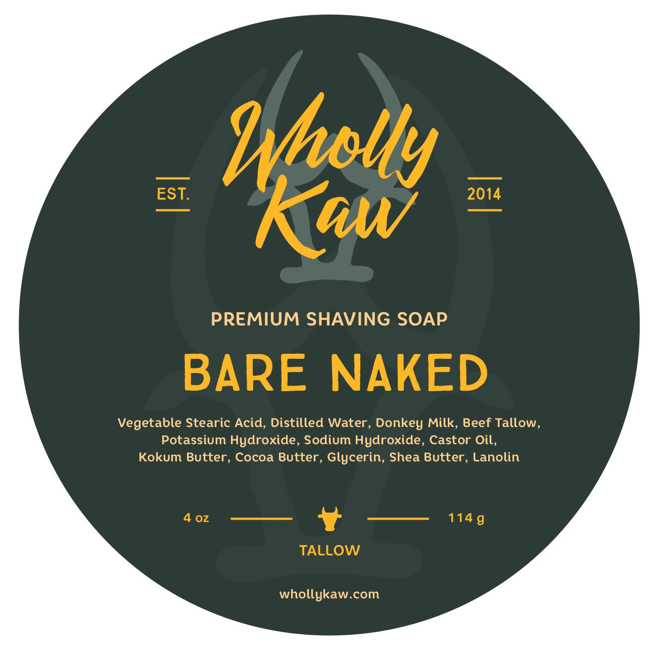 Wholly Kaw - Bare Naked - Soap image