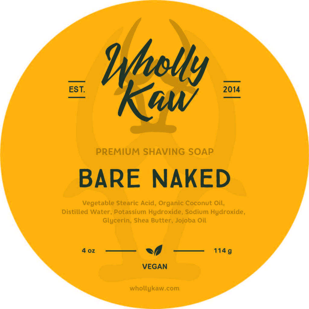 Wholly Kaw - Bare Naked - Soap (Vegan) image