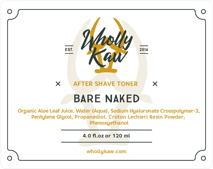 Wholly Kaw - Bare Naked - Toner image