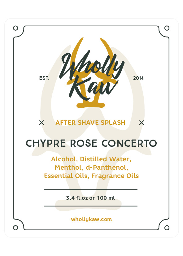 Wholly Kaw - Chypre Rose Concerto - Aftershave image