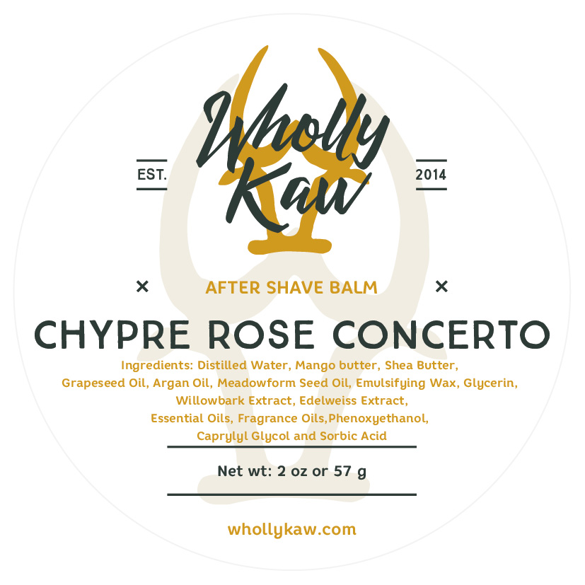 Wholly Kaw - Chypre Rose Concerto - Balm image