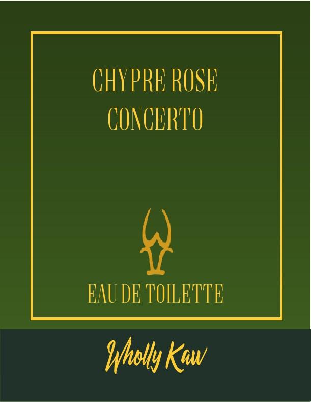 Wholly Kaw - Chypre Rose Concerto - Eau de Toilette image