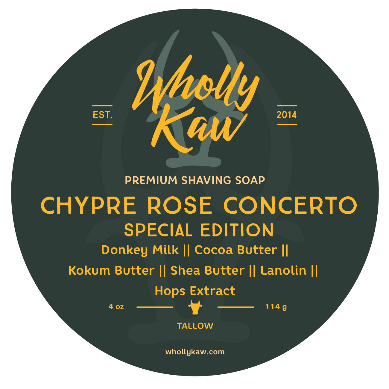 Wholly Kaw - Chypre Rose Concerto - Soap (LE) image