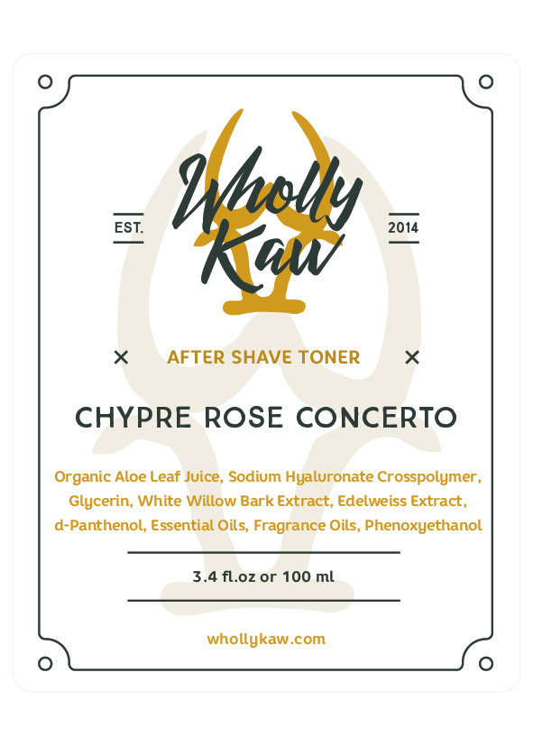 Wholly Kaw - Chypre Rose Concerto - Toner image