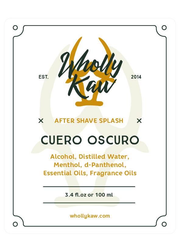 Wholly Kaw - Cuero Oscuro - Aftershave image