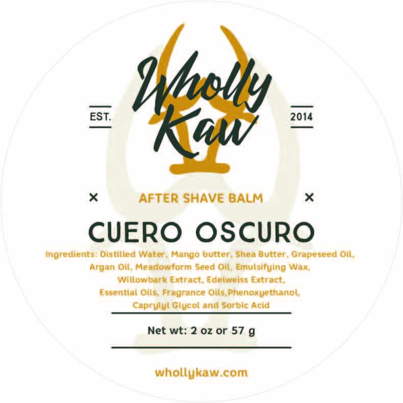 Wholly Kaw - Cuero Oscuro - Balm image